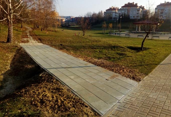 chodnik, Czuby, Lublin